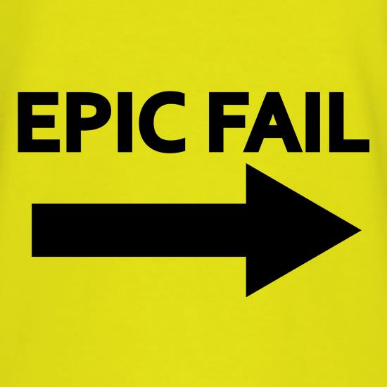 Epic Fail t shirt